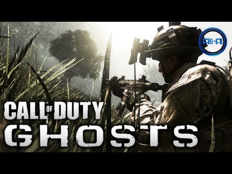 Call of Duty: GHOSTS - Gameplay Tomorrow & Ali-A @ E3 2013! - (COD Ghost Info) E3M13
