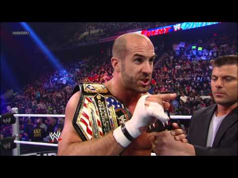 WWE Main Event - Antonio Cesaro vs. The Great Khali - United States Championship Match: Jan. 2, 2013