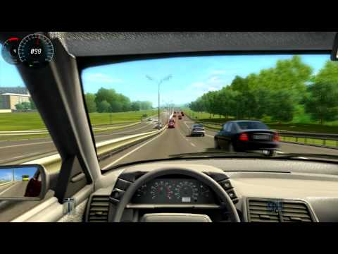 Let's Try: City Car Driving (3D Instructor) [Commentary] [HD] driving simulator 2013