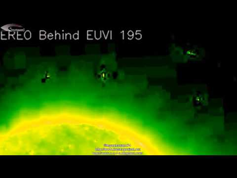 UFOs and Anomalies near the Sun - Review of NASA images of December 27, 2012. ufo тв онлайн бесплатно