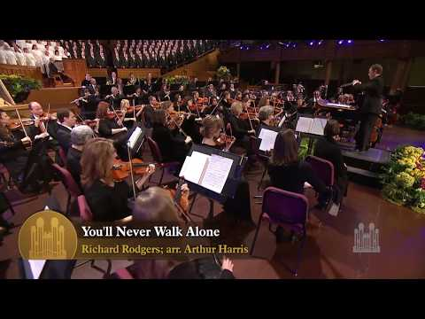 Актуальные события 2013 - You'll Never Walk Alone - Mormon Tabernacle Choir
